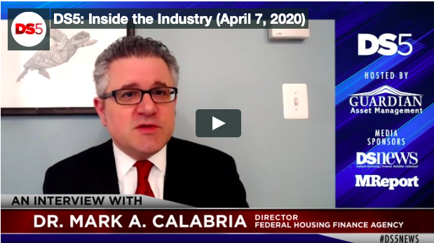 Dr. Mark A. Calabria on DS5 interview
